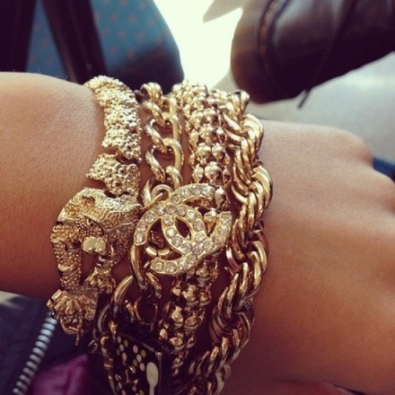 arm candy gold