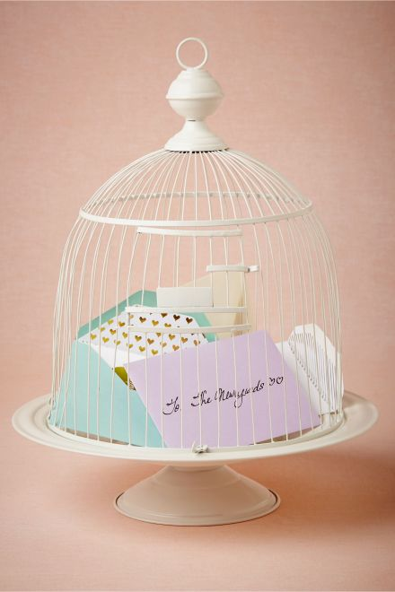 Birdcage Envelope Holder