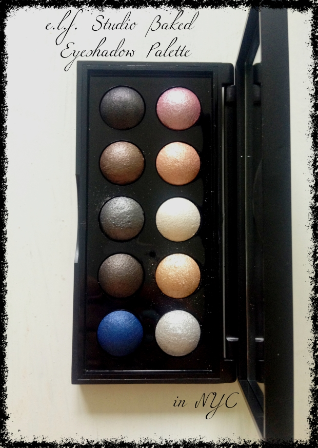 elf baked eye shadow palette