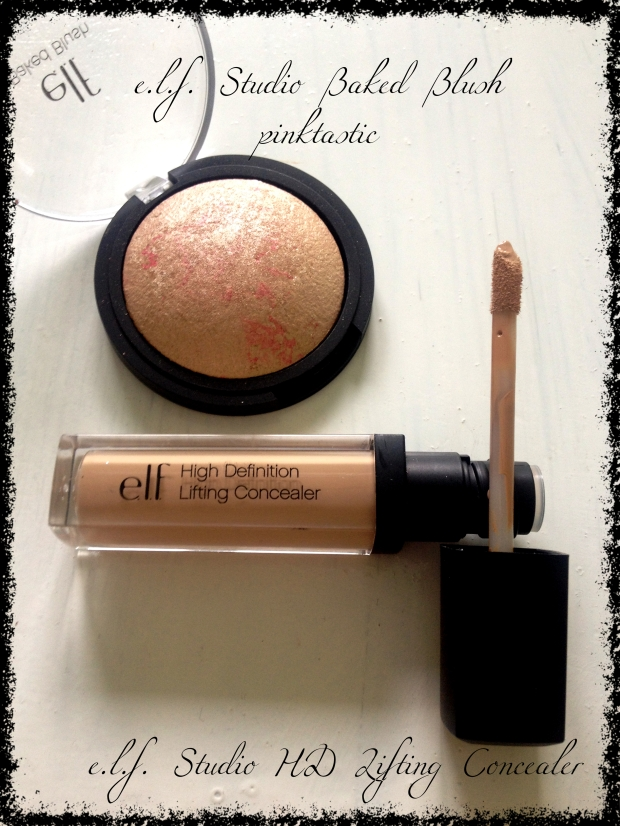 elf blush and concealer