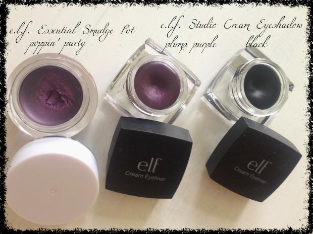 elf cream eye shadows