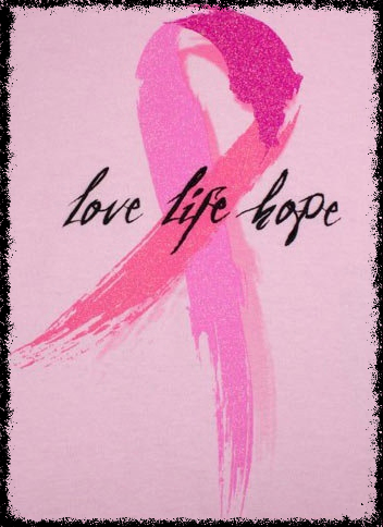 Pink Ribbon Love Life Hope